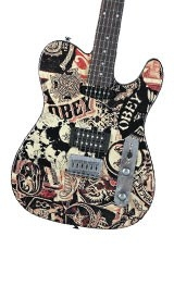 Squier Obey Graphic Tele