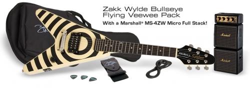 Epiphone Zakk Wylde Bullseye Flying Veewee pack