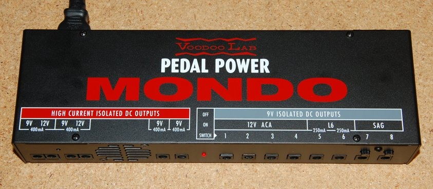 Voodoo Labs Pedal Power Mondo