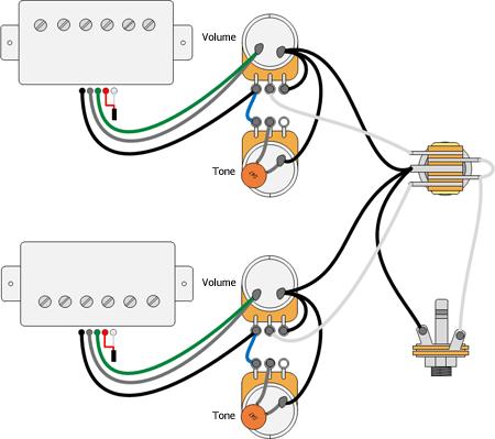 гитара схема электронная