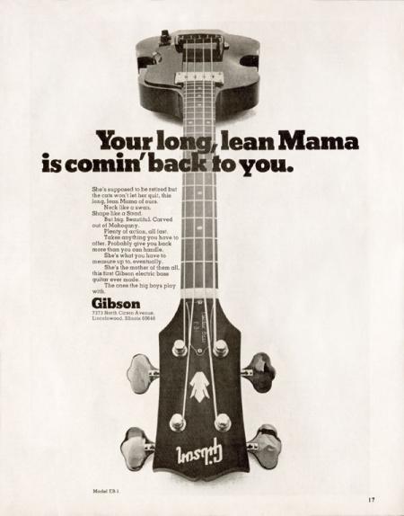 1970 – EB-1 Bass