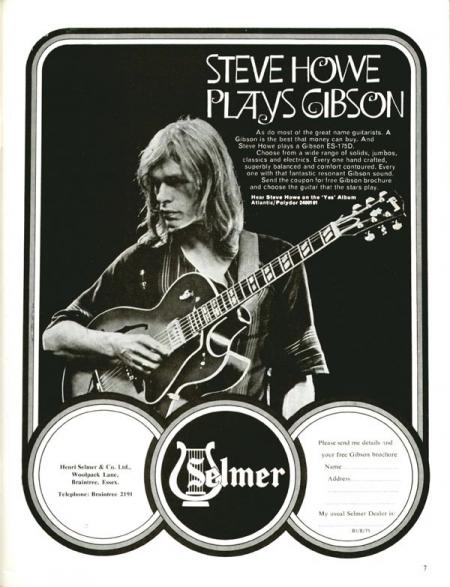 1971 – Steve Howe