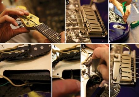 Как отстроить Fender Stratocaster. Прогиб грифа. Анкер