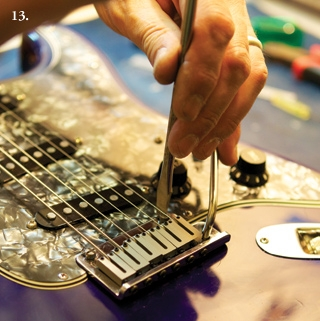 Как отстроить Fender Stratocaster. Настройка высоты бриджа