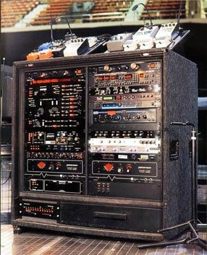 David Gilmour Rig