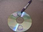Как сделать медиатор для гитары из cd диска