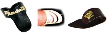Мкдиаторы для гитары на пальцы. Фото