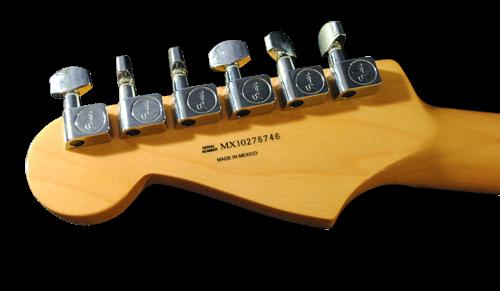 Серийный номер Fender Standard Stratocaster Made In Mexico