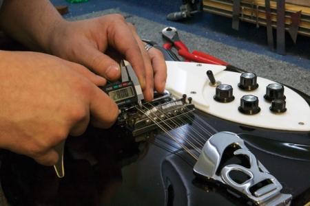 Фото 7. Отстройка двенадцатиструнной электрогитары