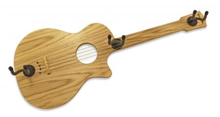 Гитарный держатель на стену