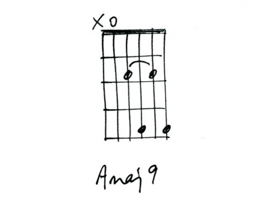 Аккорд Amaj9