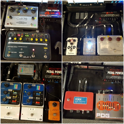 Peter Frampton Effects Pedals