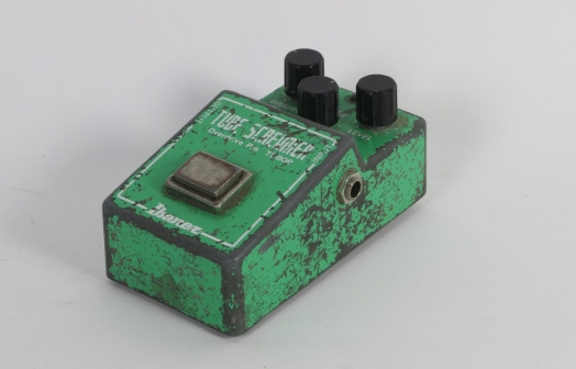 Stevie Ray Vaughan's Personal Ibanez Tube Screamer TS-808