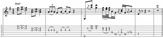 18. Лид/ритм стиль Хендрикса