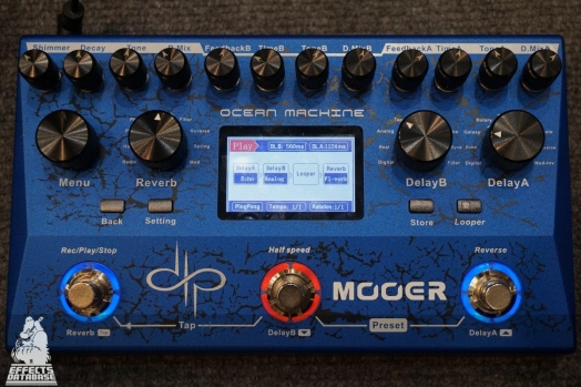 Mooer Audio Ocean Machine - Devin Townsend signature Delay/Reverb