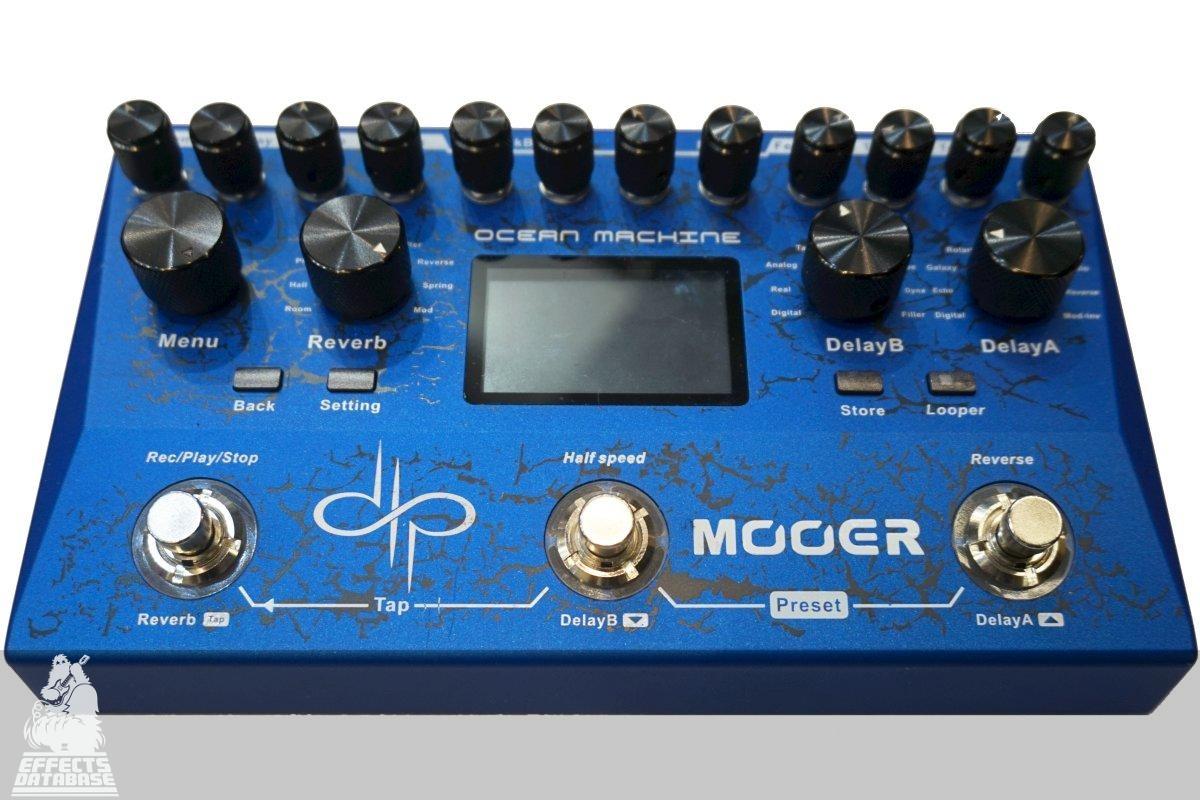 Mooer Ocean Machine Delay Reverb /& Looper Pedal