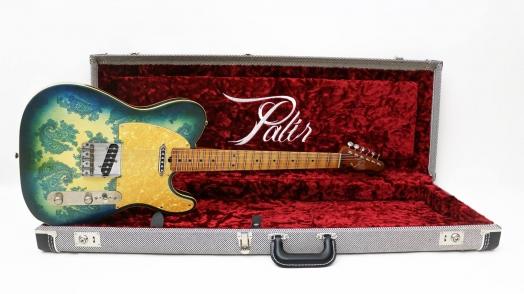 Palir ® Aged Phelham Blue Paisley Double Bound Titan