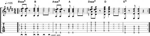 Sus-аккорды