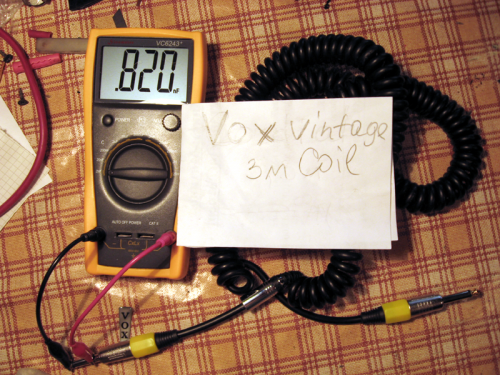 Кабель Vox Vintage Coil