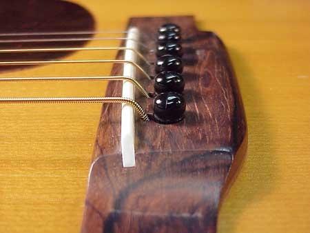 Как сделать нижний порожек для гитары
