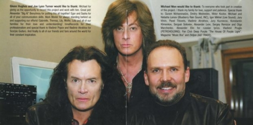 Glenn Hughes & Joe Lynn Turner In Michael Men Project - Made In Moscow