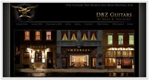 DBZ Guitars. Web Site