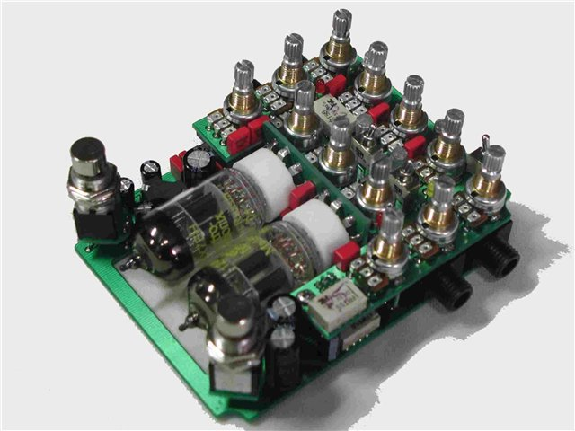 Guitar Tube Preamp AMT SS-11