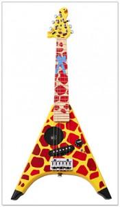 Гитара для ребенка. Жираф