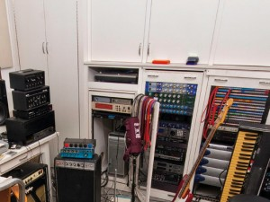 Moby Home Studio. Pro Tools