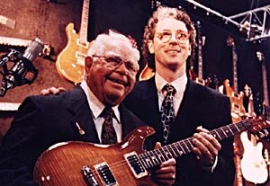 Ted McCarty with Paul Reed Smith