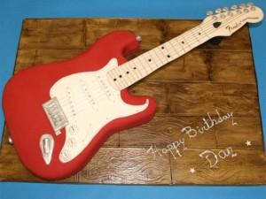 Торт - Fender Stratocaster