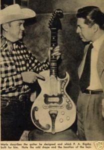 Merle Travis and Original Bigsby BY48