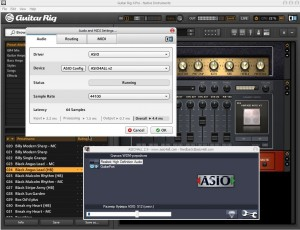 Guitar Rig 4 ASIO Latency