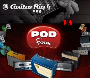 Guitar Rig 4 vs Pod Farm