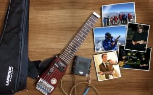 LapStick Trave Guitar