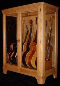 Шкаф для гитар