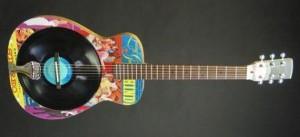 Worland Vinyl Resonator Guitar