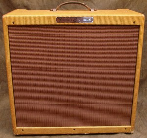 Vintage 1955 Fender Tweed Bassman Guitar Amp